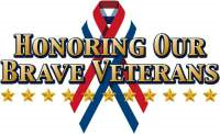 Honoring our brave veterans, click to go to veterans page