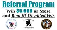 wounded warrior project and disable american veterans logos